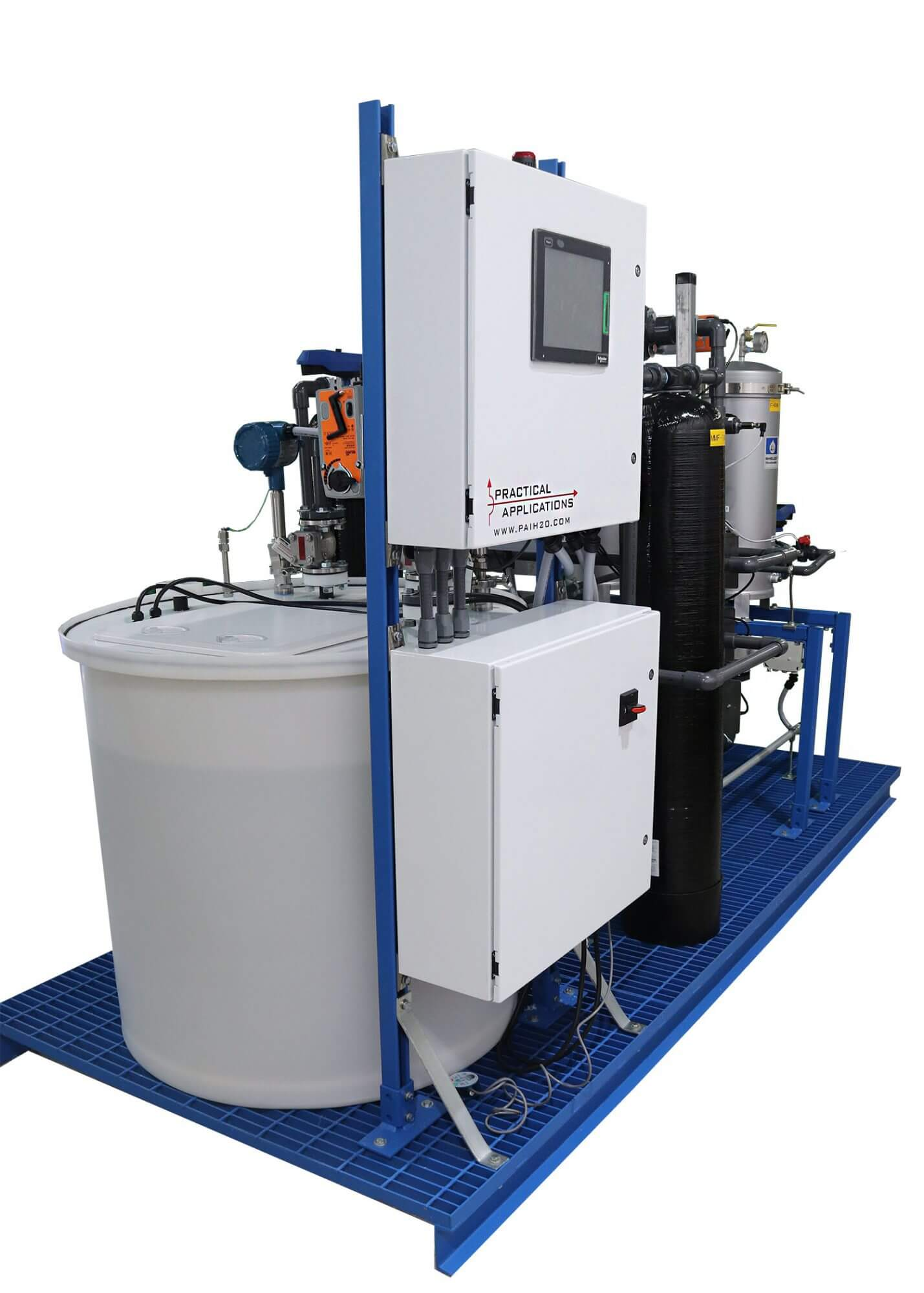 Practical Applicatoins Custom Legacy Mercury Clean Up Pure Water System