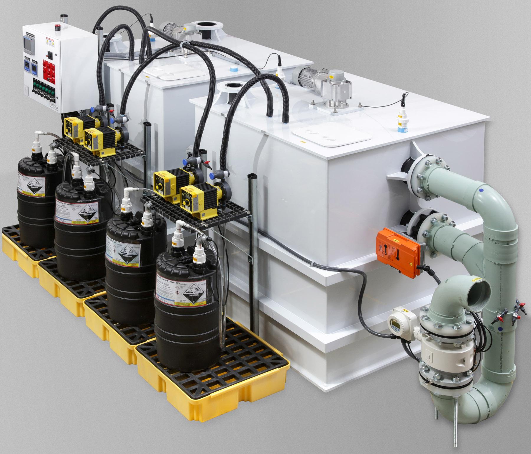 pH neutralization treatment